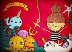 Karen Steph「Under the sea」