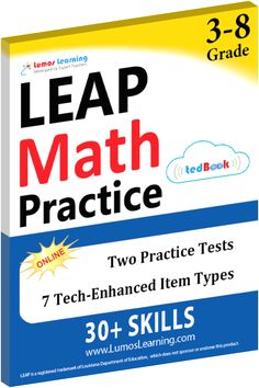 Help your child score better on the 2017 LEAP Math & ELA tests