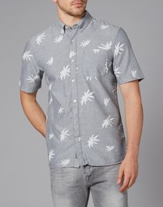 Vans La Palma Short Sleeve Shirt with Print