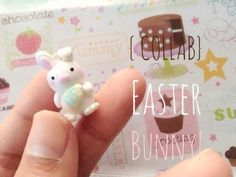 Easter Bunny and Egg - Polymer Clay Tutorial {COLLAB}