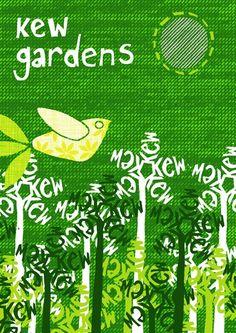 Items similar to Kew Gardens Screenprint on Etsy Posters Uk, Cool Posters, Illustrations And Posters, Kew Gardens Shop, Kew Gardens London, London Poster, London Art, Botanical Drawings, Botanical Art