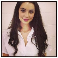 Sumaya Jacobs ❤ liked on Polyvore featuring adelaide kane, hair, instagram and people