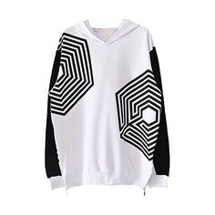Kpop EXO Overdose Hooded Sweater Korea Seoul Concert Sweater ❤ liked on Polyvore featuring tops, sport bikini top, hooded tank top, sport tops, women tops and sports tops