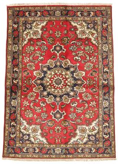 These Beautiful Authentic Persian Tabriz Carpets Are Hand Knotted In Studios Iran