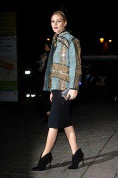 Olivia Palermo Arriving at H&M Fashion Show – Paris Fashion Week, March 2016