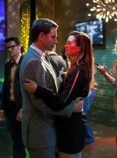 Tony and Ziva #NCIS They NEED to get together.