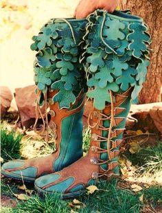 Turtle Island Moccasins - Custom Footwear - Leather Moccasins, Renaissance Footwear