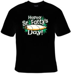 St. Patrick's Day 420 Funny t-shirt on Etsy, $11.99