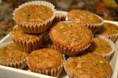 Zucchini Walnut and Pineapple Muffins | The Fresh Find