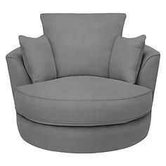 Buy John Lewis Luman Swivel Chair, Pier Steel Online at johnlewis.com £699 7 day delivery in this colour