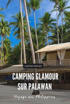 Glamping et island hopping à Palawan aux Philippines Philippines Palawan, Voyage Philippines, Les Philippines, Philippines Travel, Bohol, Glamping, Cebu, Camping Glamour, Beautiful Islands
