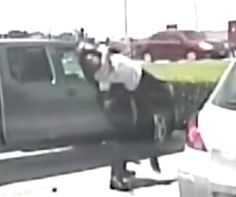 An Austin police officer body-slammed an unarmed black elementary schoolteacher during a June 2015 arrest. Video of the incident emerged Thursday. (Screen grab from YouTube)