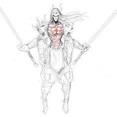 Unalaq-Vaatu Dark Avatar WIP 2 by Sketchydeez on deviantART