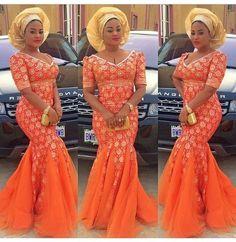 Beautiful Long Gown Design  http://www.dezangozone.com/2015/05/beautiful-long-gown-design.html