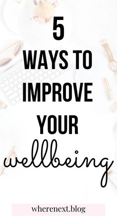 Taking care of your wellbeing is very important but is neglected by the majority of people. Check out these easy tips to improve your mental and physical wellbeing.