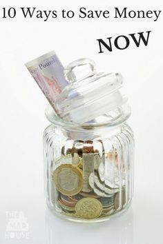 10 Ways to Save Money Now. Sometimes that very first step is the hardest part. So to kickstart your journey with these money saving tips.