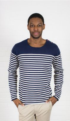 striped Sweater your Musthave for 2015, O-Neck,  100 % Cotton. Discover more styles of Colours & Sons on Dress and Friends ! #mensstyle #musthave #mensfashion #gentleman
