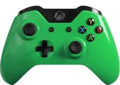 Custom Xbox One Controller with Glossy Green Shell Brand New Xone Controller | eBay #xboxone #customcontroller #moddedcontroller #customxboxonecontroller