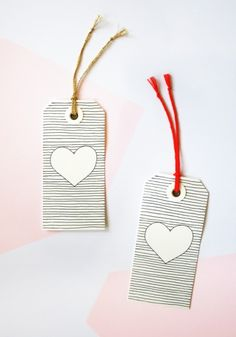 DIY Gift Tags by Marie Nowinski