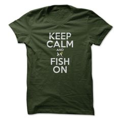 #Funnytshirts... Cool T-shirts  Price :$19.00Purchase Now  Low cost Codes View pictures & pictures of Keep Calm And Fish On (GWS-C-Left) t-shirts & hoodies:When you do not completely love our design, you'll be able to SEARCH your favourite one through the u...