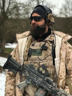 Military Police, Military Art, Airsoft, Tactical Beard, Marine Special Forces, Air Force Special Operations, Us Navy Seals, Special Ops, French Army