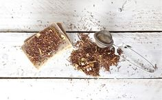 Make your own soap with loose tea leaves.