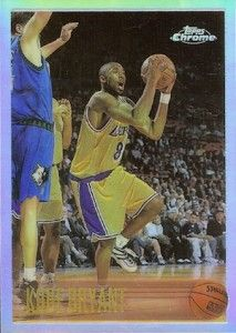 1996-97 Topps Chrome Kobe Bryant RC #138 Refractor