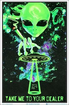 """Inhale pot smoking girl poster 24 x 36/"""""""