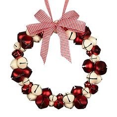 Buy John Lewis Indoor Christmas Bell Wreath online at JohnLewis.com - John Lewis