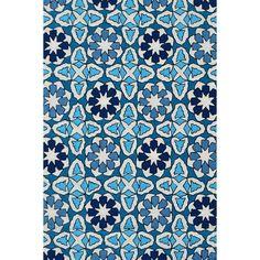 Handmade UV Mosaic Rug