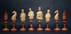 Antique German Geislingen Chess Set