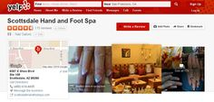 "115 reviews of Scottsdale Hand and Foot Spa ""Been to Scottsdale Hand & Foot Spa this morning. Tracey did a wonderful job on both toes & fingernail designs. Don't go anywhere else when your hands & feet need pampering. When you've had the best http://www.yelp.com/biz/scottsdale-hand-and-foot-spa-nail-salon-scottsdale-2"