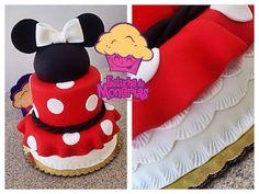 Mini mouse cake  Girls birthday cake