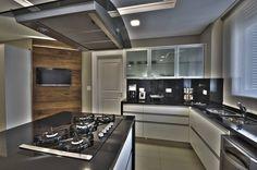 Kitchen (De Pauline Kubiak Arquitetura)