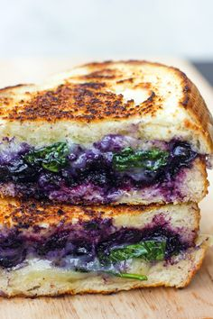 It's time to update the grilled cheese recipe you mastered long ago. Balsamic vinegar adds a tartness to blueberries for a complex flavor that will impress even the pickiest dinner guest. Get the recipe at Amanda K. by the Bay. MORE: 27 Totally Essential Grilled Cheese Recipes   - CountryLiving.com