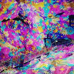 #광명동굴 #광명동굴테마파크  #2시공연 우와 멋지다 ㅋ #동굴벽화 #동굴벽 이 이렇게 화려하다니♡..♡