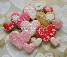 heart cookie decoration ideas