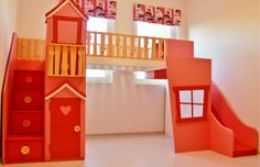 lalaloopsy bunk beds | The lalaloopsy style Loftbed - a dream bedroom.