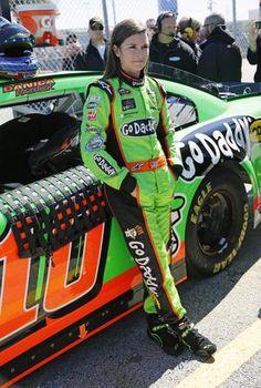 Danica Patrick wins pole for NASCAR's Daytona 500 #danicapatrick #autoracing #motorsports #NASCAR #Daytona