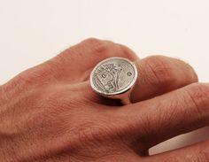 anello Bolivia 925 di BlindSpotJewellery su Etsy