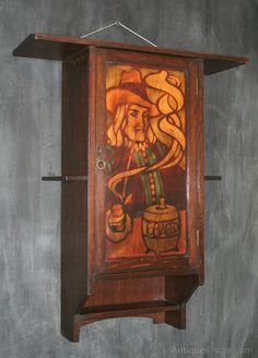 Shapland & Petter For Liberty Smokers Cabinet - Antiques Atlas