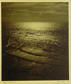 Olive Cotton (1911-2003)  Sea's Awakening, 1937    Vintage silver gelatin photograph