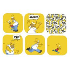 Porta Copos Simpsons Homer