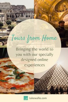 Along with our expert guides from Rome to New York, we've curated a series of online experiences to bring the wonders of the world into your living room. Dig into the secrets of Ancient Rome, learn how to make pizza, discover the highlights of the Louvre Museum, and more. Join our expert storytellers and journey around the world from the comfort of your home. Check out our virtual tours today!