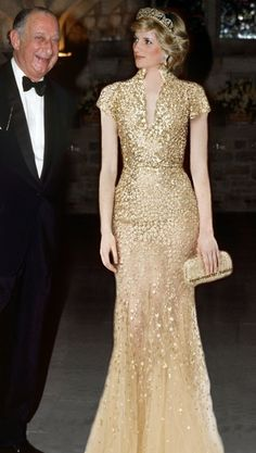 Princess Diana I'm not sure this dress is Not Photoshopped on her, I've seen hundreds of pics but not this dress! ????