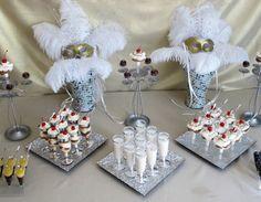 Table Decorations Masquerade Party CenterpiecesMasquerade
