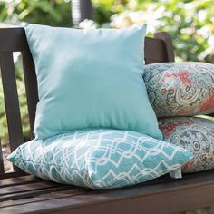 Coral Coast Haven 16 in. Outdoor Pillows - Set of 2 - HNPS5792