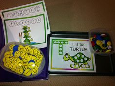 Letter T Workboxes
