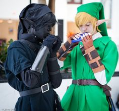 The legend of Zelda cosplay <3