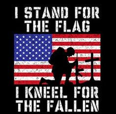 marines patriotic army t-shirt i stand for the flag i kneel FOR THE FALLEN hoodie usa flag hooded cool sweatshirts hoodies hoody Army Quotes, Military Quotes, Army Sayings, Marine Quotes, Funny Military, Military Life, I Love America, God Bless America, Patriotic Pictures